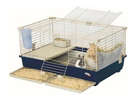 Gabbietta per conigli da usare in casa