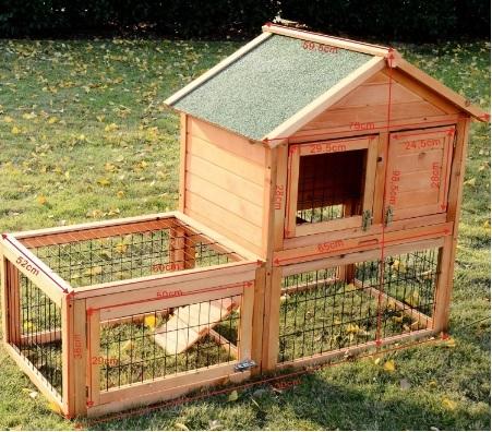 Gabbia Per Conigli Molto Grande E Dal Design Carino