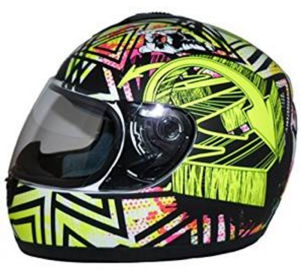 Casco sportivo tema colorato moderno design