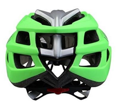 Casco bici moderno e verde certificato ce
