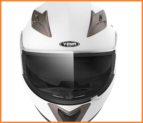 Casco scooter bianco