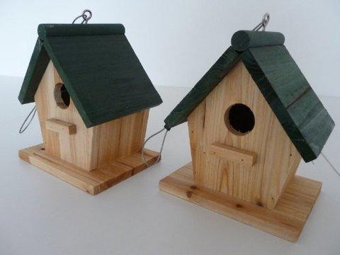 Casette In Legno Per Uccelli Selvatici