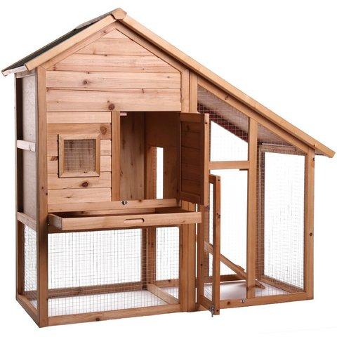 Costruire le gabbie in legno per conigli