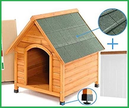 Casette per cani da interno in legno