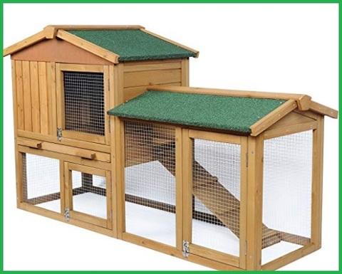 Casette per conigli in legno