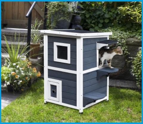 Casette Per Gatti Da Giardino