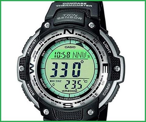 Orologi sportivi casio con altimetro
