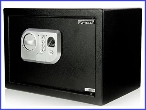 Cassaforte elettronica con scanner