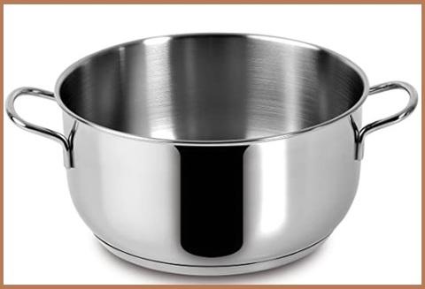 Cucina casseruola acciaio