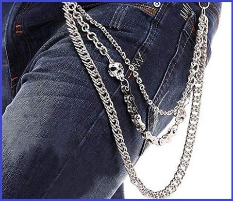 Catenella jeans uomo