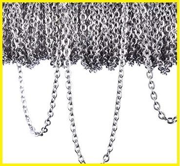 Catenelle collane acciaio inox