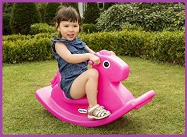 Cavallo A Dondolo Plastica Per Bambini
