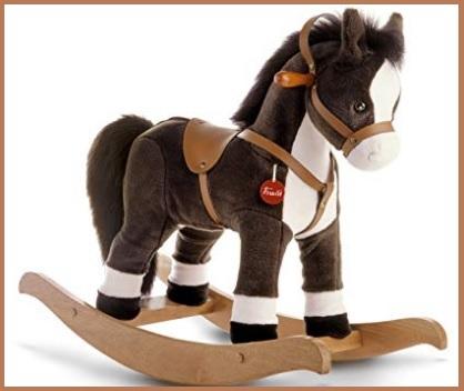 Cavallo A Dondolo Trudi Marrone