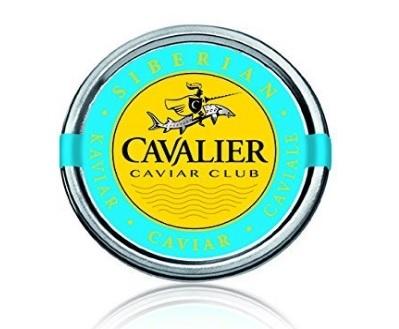 Caviale siberiano caviar club confezione 30 gr