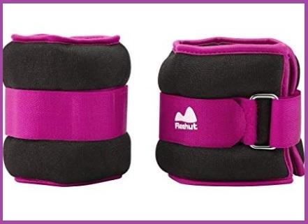 Cavigliere con pesi regolabili colorate