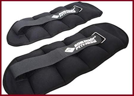 Cavigliere con pesi regolabili polsini