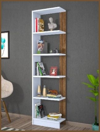 Mobile soggiorno con libreria