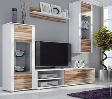 Mobile soggiorno in legno laccato lucido