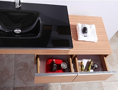 Mobili per il bagno sospesi e contemporanei grandi for Sconti mobili