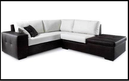 Composizioni moderne divani in tessuto ecopelle