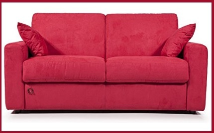 Morbido e comodo divano in tessuto