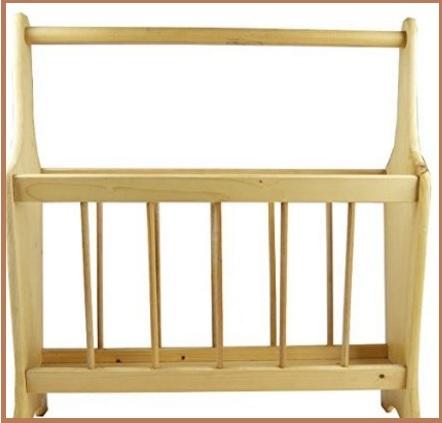 Portariviste in legno classica