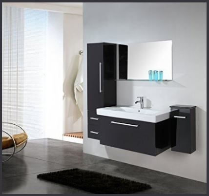 Mobile bagno sospeso moderno e classico