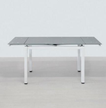 Tavolo laccato e temperato moderno e allungabile grandi for Centro tavolo moderno