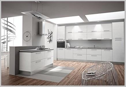 Stile moderno cucina e zona living