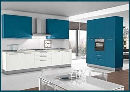 Cucina classica penisola doppio colore