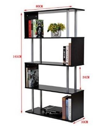 Mobile libreria per salotto