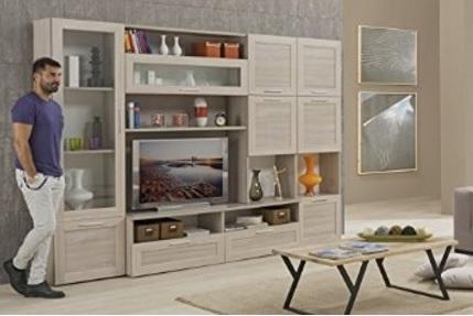 Mobile salotto olmo parete attrezzata grandi sconti for Salotto parete attrezzata