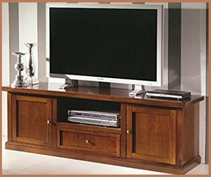 Soggiorno classico elegante porta tv