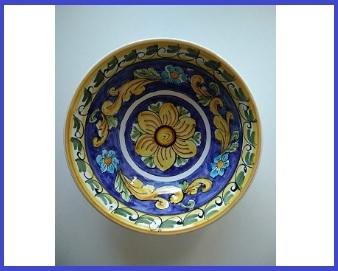 Ceramica siciliana piatto