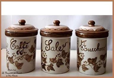 Ceramica Artistica Contenitori Barattoli