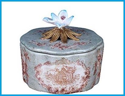 Ceramica Artistica Contenitori Dipinto