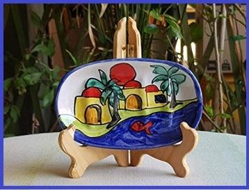 Ceramica Artistica Siciliana Portasapone