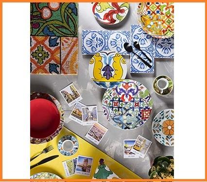 Piatti Ceramica Colorati Moderni