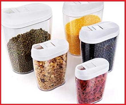 Cereali e legumi contenitori