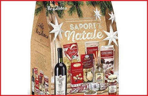 Cesto natalizio vino prodotti