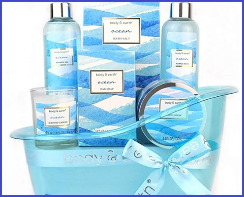 Cesto Regalo Bath Spa Per Donna