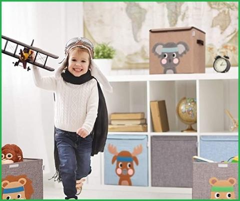 Contenitore Giochi Bambini Con Coperchio