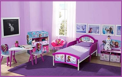 Contenitore per giocattoli frozen bambine