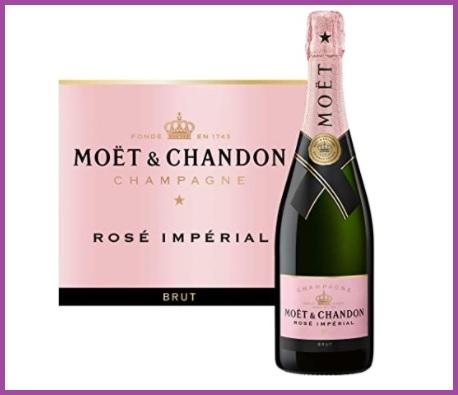 Champagne Moet Chandon Rose