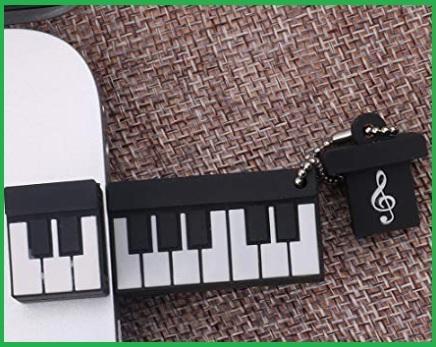 Chiavetta usb nota musicale