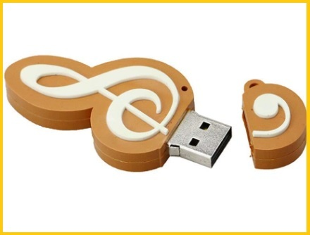 Nota musicale pendrive usb