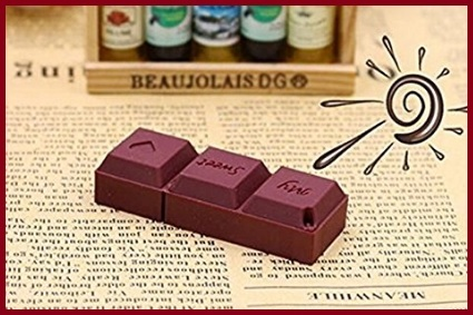 Memoria flash usb cioccolato tavoletta