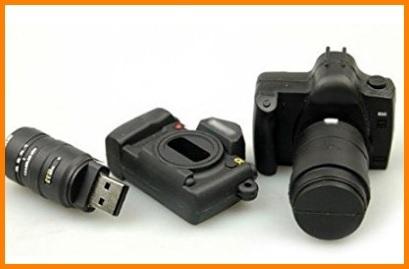 Macchina fotografica chiavetta usb flash