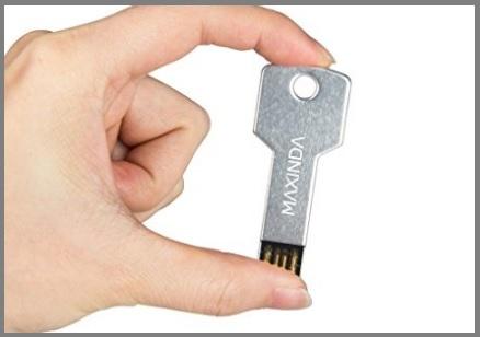 Chiavetta usb chiave in metallo
