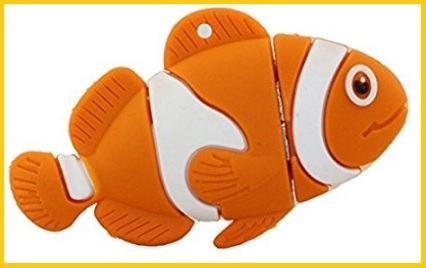 Flash drive nemo arancione